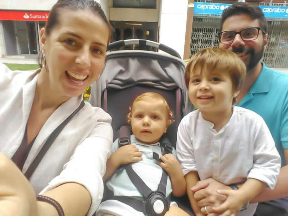 Michael Martinez moved to Barcelona in 2015 after he and his wife Cristina were married. He's lived there ever since and now has two little boys — a one-year-old and a three-year-old — and a baby girl due at the end of April. His growing family is living in the middle of Spain's outbreak. Martinez spoke to mySA.com on March 20, when Spain became the second European country to report more than 1,000 deaths. Photo: Courtesy, Michael Martinez