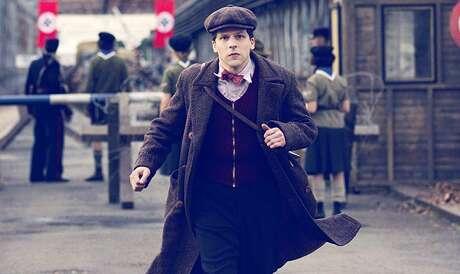 "Jesse Eisenberg stars in ""Resistance"""