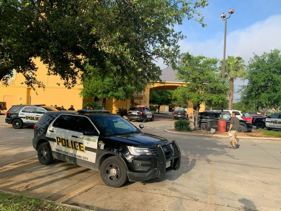A man was taken to the hospital in critical condition after a shooting at a North Side hotel on Tuesday, according to the San Antonio Police Department. Photo: Mark Dunphy