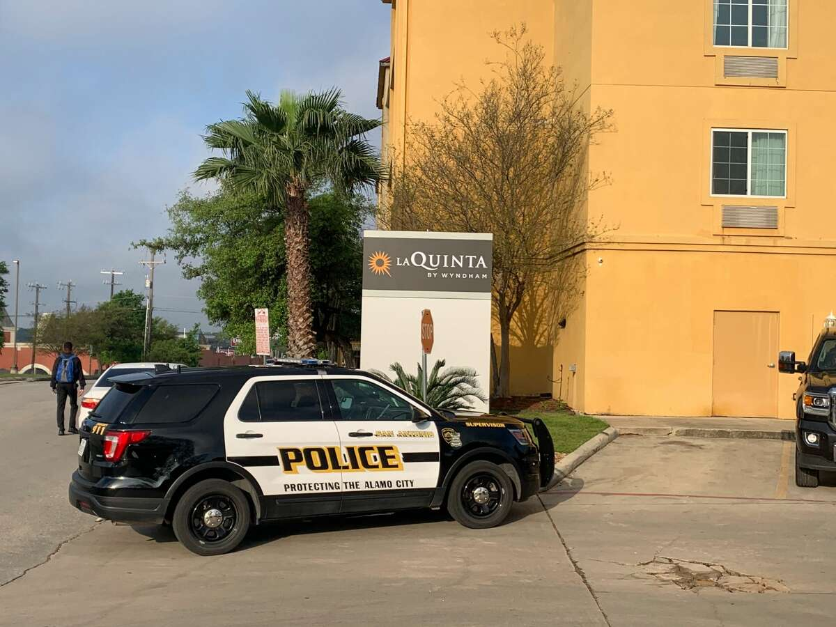 A man was taken to the hospital in critical condition after a shooting at a North Side hotel on Tuesday, according to the San Antonio Police Department.