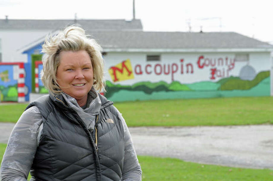 "Area fair organizers are moving ahead with plans for the annual summer events amid coronavirus concerns. Macoupin County Fair Board President Kim Carney Rhodes, pictured at the fairgrounds in Carlinville, said her board is hoping and anticipate the pandemic ""will be under control"" and not affect this year's fair."