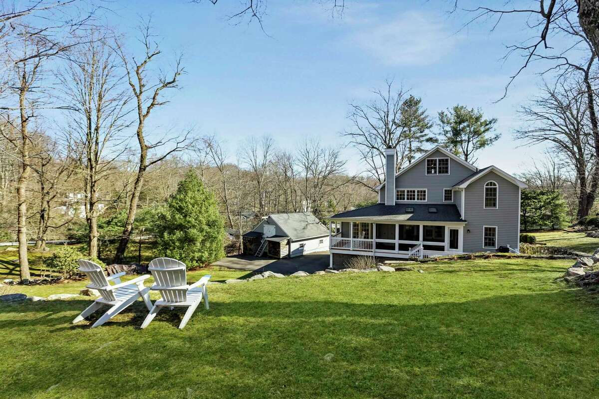 The current owners enjoy gardening on this property, and their outdoorsy lifestyle is supported by the detached, oversized two-car garage with has storage for boats and bicycles.