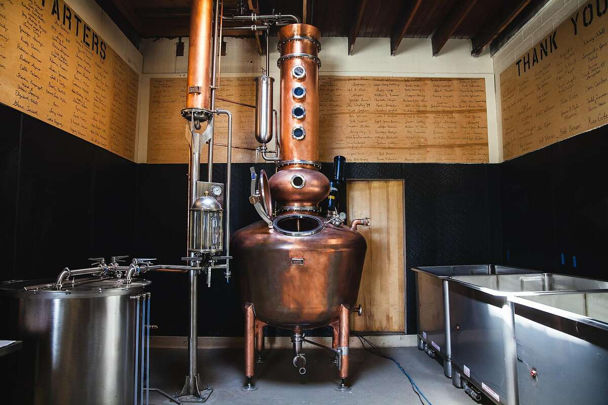 Steve and Amy Bohner, owners of Alchemy Distillery in Arcata, Calif., have begun making hand sanitizer from rye whiskey, like many of those in Washington state.Keep clicking for more good news about the novel coronavirus.