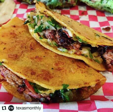 JQ's Tex Mex BBQ in Houston specializes in barbecue with a Tex-Mex spin. The pop-up restaurant specializes in birria tacos.