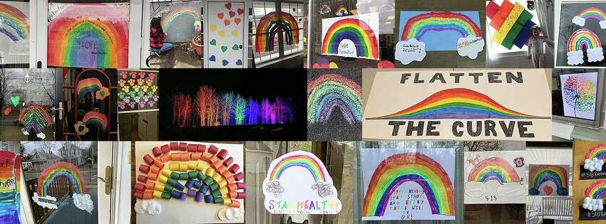 Hundreds of local families and businesses are spreading joy in the midst of the coronavirus outbreak by displaying rainbows in their windows or front yards. Share your own photos using #518rainbowhunt.