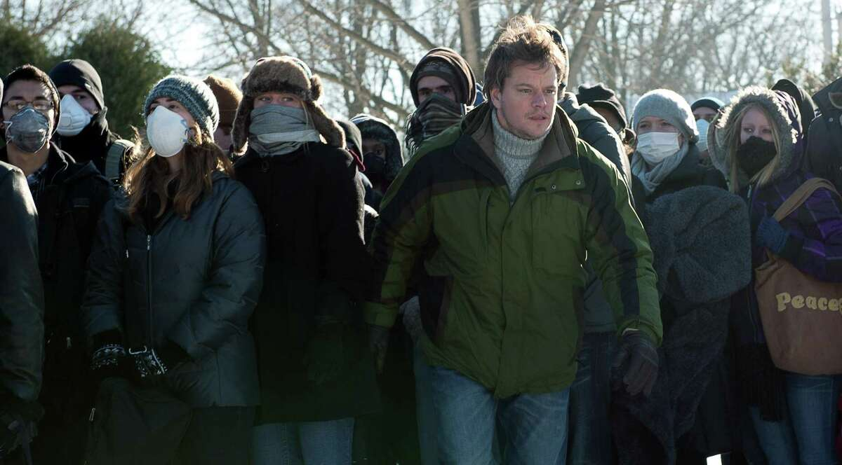 """""""Contagion's"""" depiction of a highly contagious virus sweeping the world is close to what we're dealing with now."""
