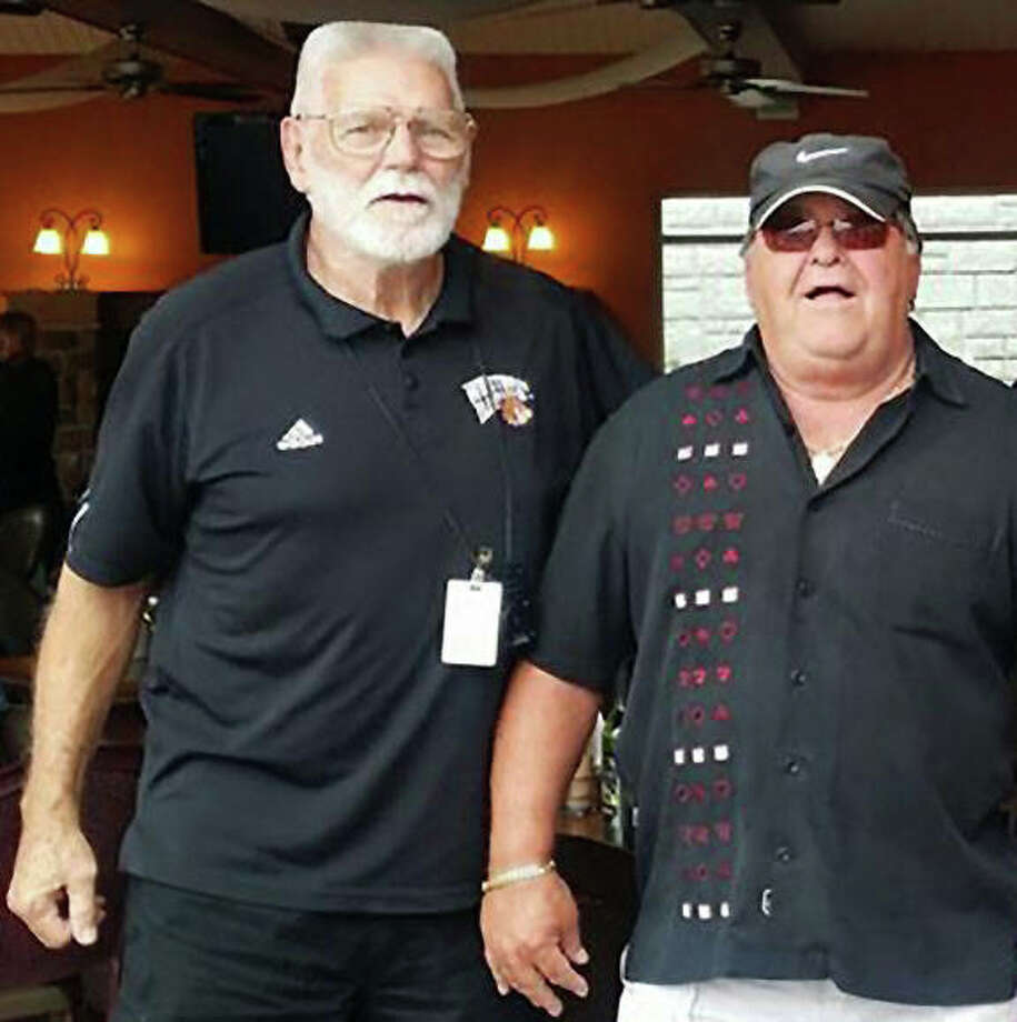 Billy Joe Brockhouse (left) and Tom Pile grew up together as cousins in Winchester. Their life-long relationship grew into much more as coaches and friends before Brockhouse passed away Thursday at age 76 back in his hometown of Winchester. Photo: Facebook Photo