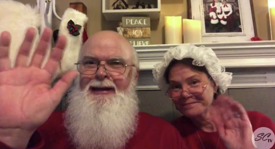 Christmas may be months away, but New Braunfels' well-known Santa and Mrs. Claus said they want to spread holiday cheer during the uncertain times. Photo: Nbsanta.com