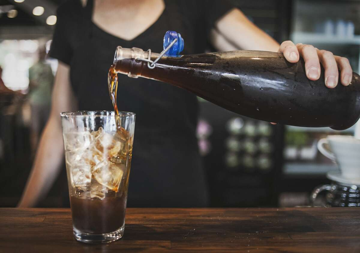 Making cold brew at home takes just five minutes of prep.