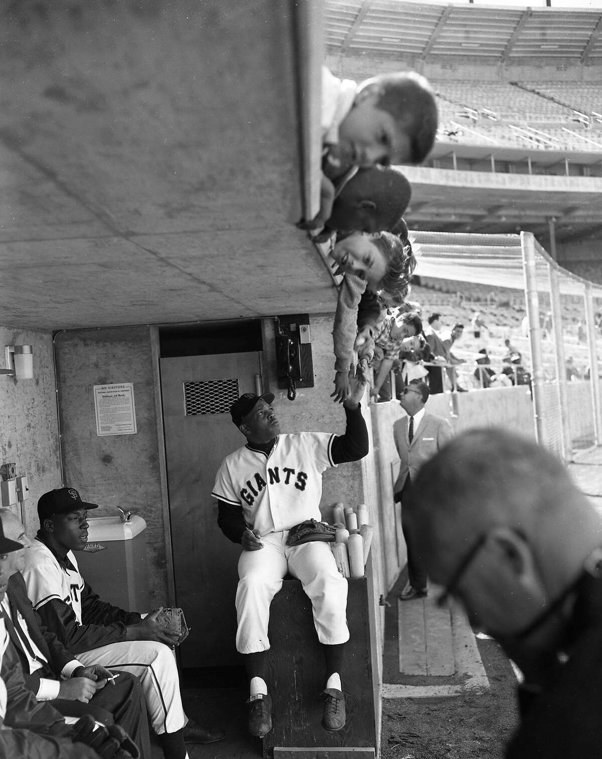 The Giants first workout at Candlestick Park, April 11, the day before Opening Day at Candlestick Park April 12, 1960.