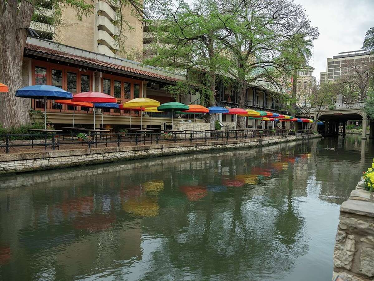 Alejandro Aldana took photos of the empty downtown streets in San Antonio.