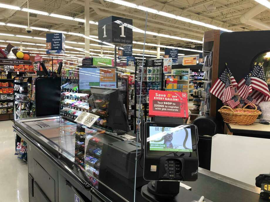 Spartan Nash grocery chainspharmacies and fuel centers will have sneeze guards made of plexiglass installed at point of sale terminals. (Courtesy Photo)