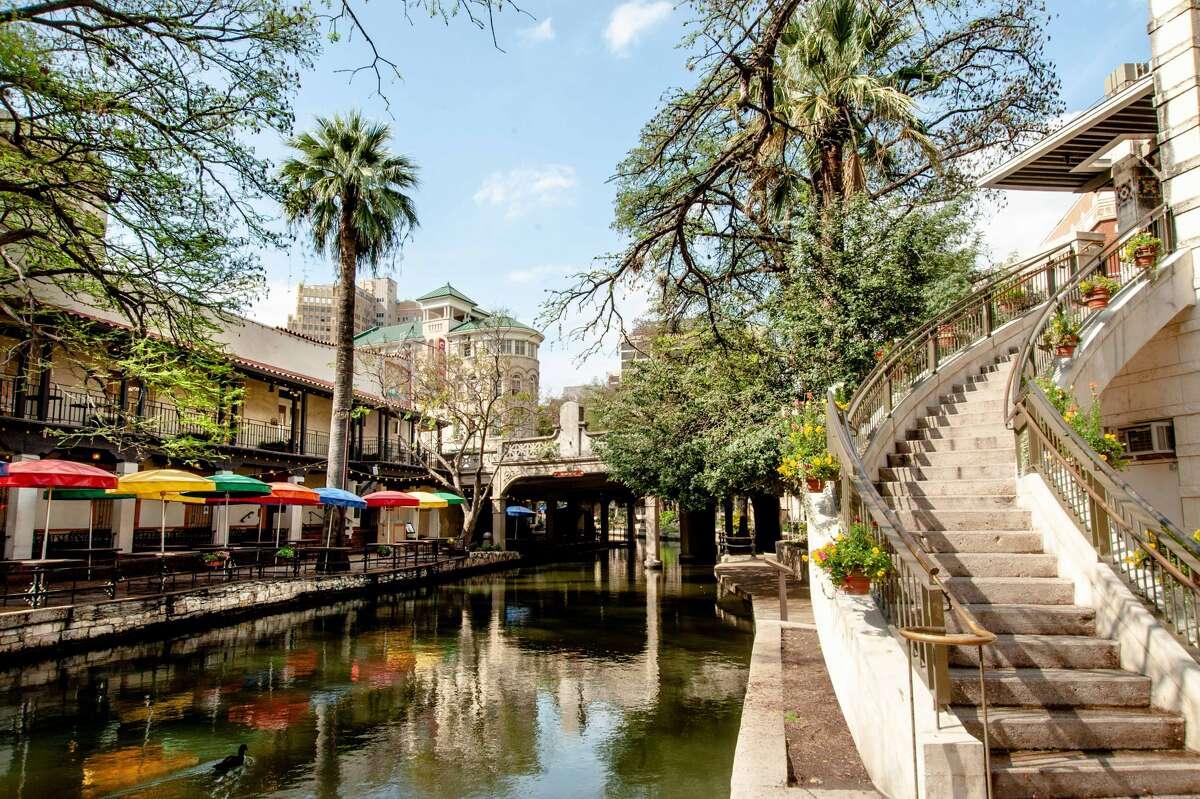Aimee Wyatt captured the empty streets of downtown San Antonio.