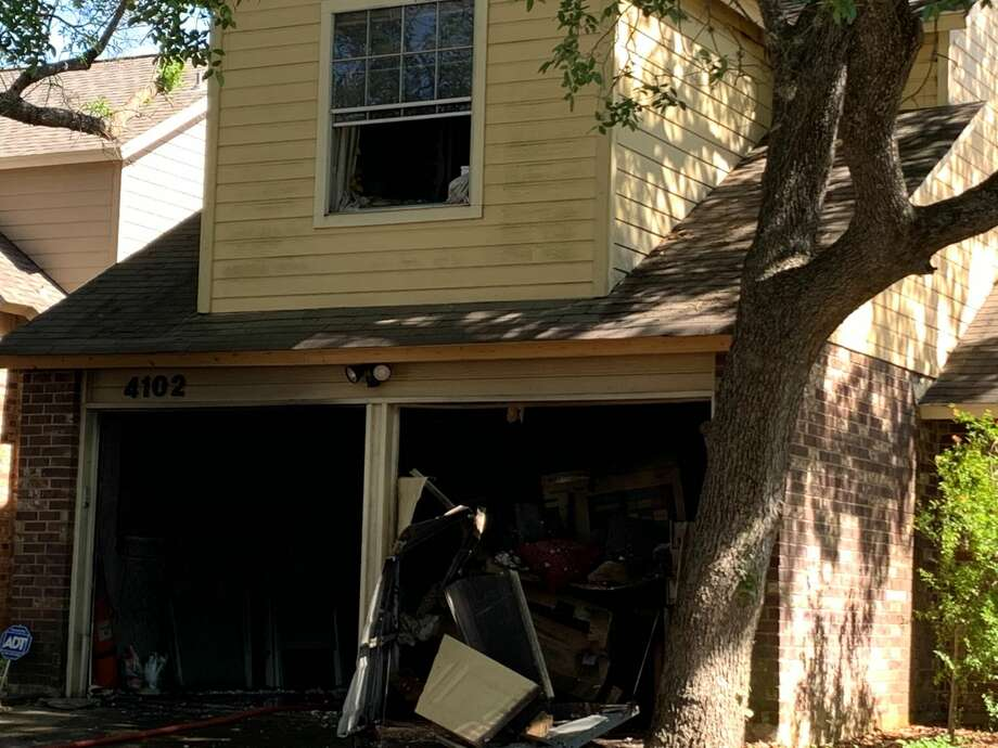 A Northeast Side family was displaced by a fire Tuesday, according to the San Antonio Fire Department. Photo: Mark Dunphy