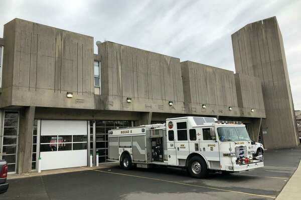 The New Haven Fire Department headquarters on Grand Avenue.