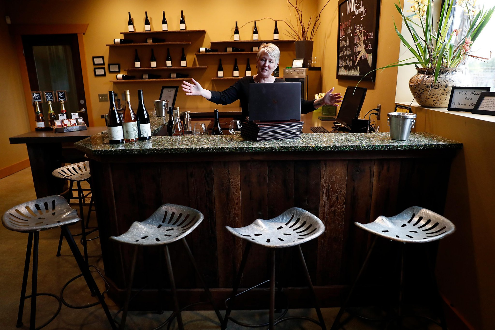 While sheltering in place, California wineries rush to offer virtual wine tastings. Are they fun or just awkward?