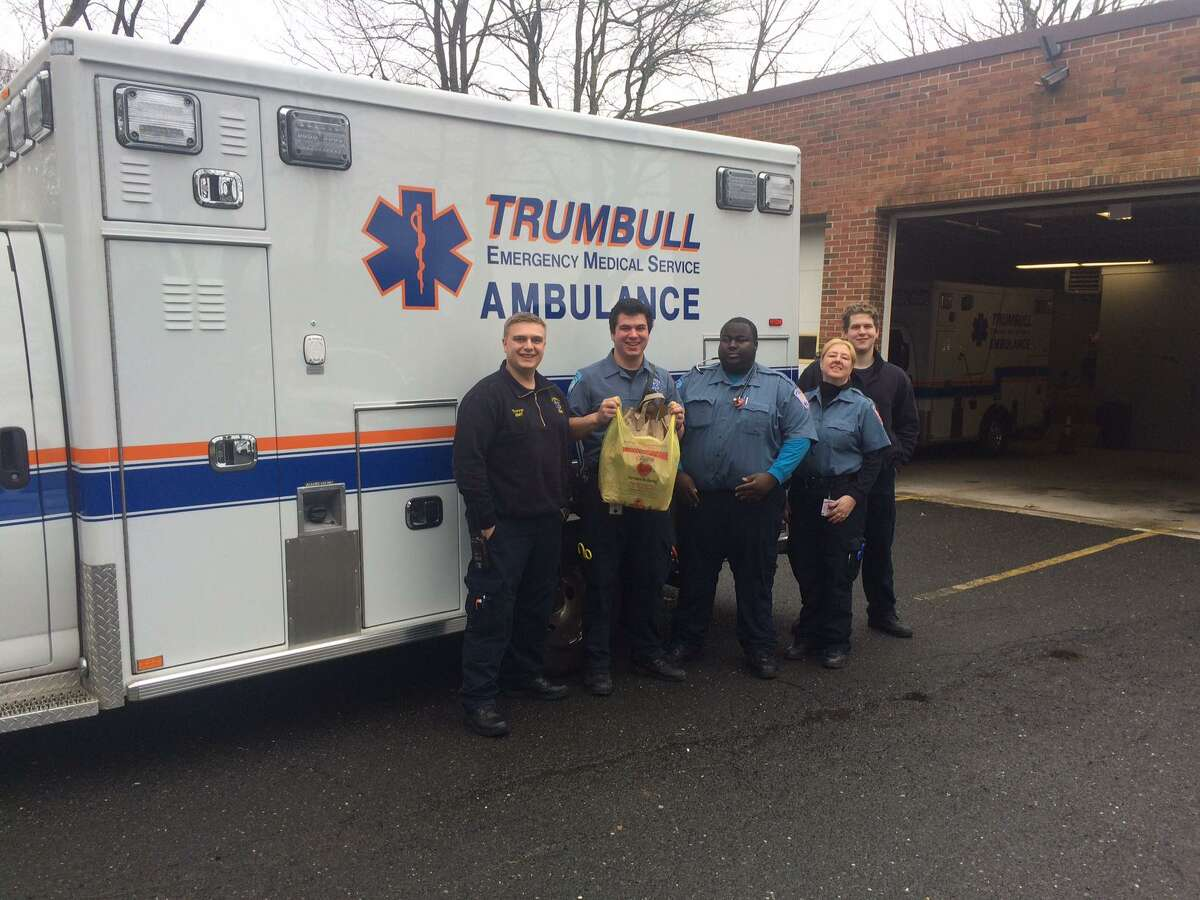 Trumbull EMS workers are collecting donations for the Food Pantry while also seeking personal protective equipment for their own use.