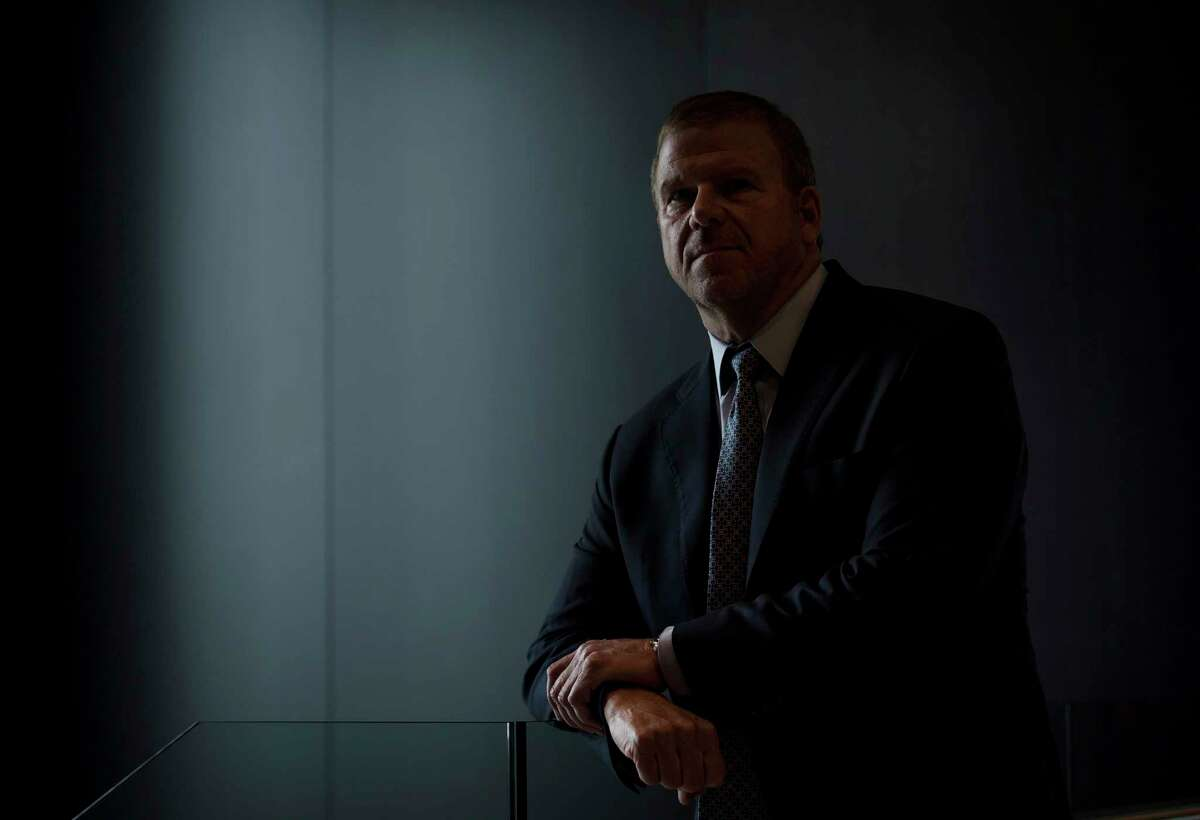 Tilman Fertitta, owner of Landry's, Inc. He said he has had to temporarily lay off 40,000 workers at his casino, hotel and restaurant empire to limit the economic damage caused by government-imposed shut-downs.