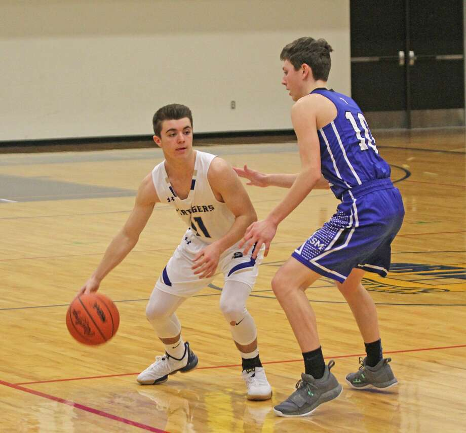 Seniors Taylor Bennett, Wade Sedlar and Lucas Mauntler earned All-Northwest Conference honors this season. Photo: News Advocate File Photo