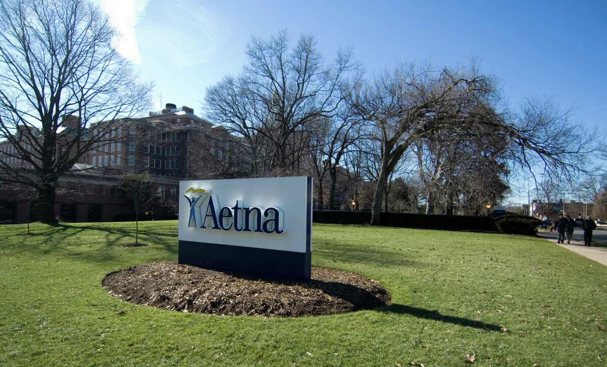 A file photo of the Aetna campus in Hartford, Conn.