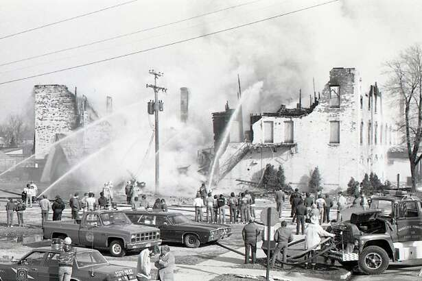 A firedestroyed the former Hotel Chippewa on March 26, 1985. This year marks the 35th anniversary of the event.