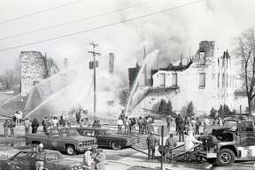 A fire destroyed the former Hotel Chippewa on March 26, 1985. This year marks the 35th anniversary of the event.