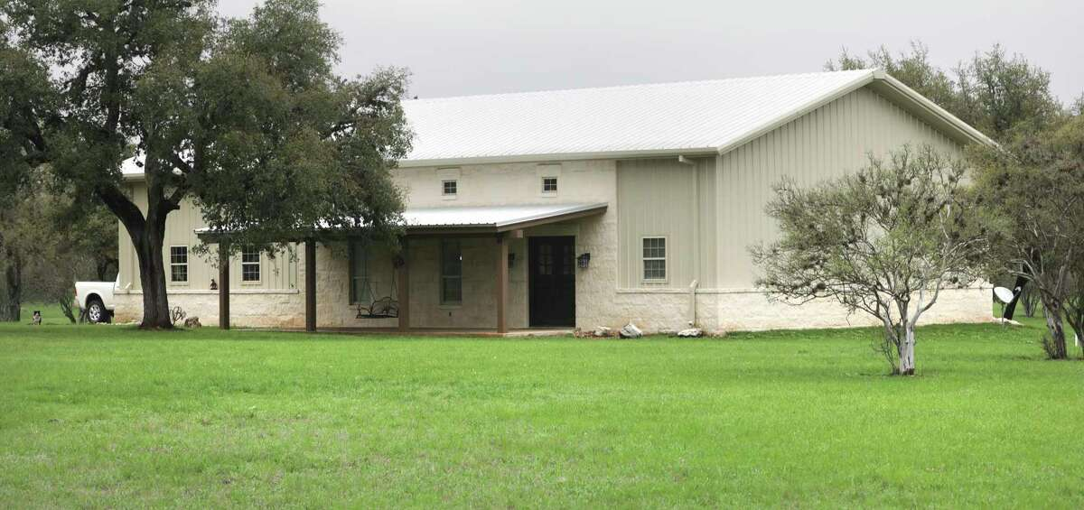 Ken and Caril Anderson built their three-bedroom, two-bathroom barndominium three years ago on 15 acres of land they own in Center Point, just south of Kerrville.