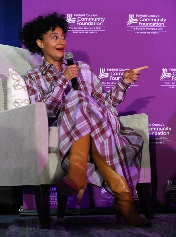 Actress, producer and activist Tracee Ellis Ross delivers the keynote conversation during Fairfield County's Community Foundation Fund for Women & Girls annual luncheon at the Hyatt Regency last April. The hotel, which is highly used for fundraising events, will suspend normal operations through April 30 due to coronavirus. Photo: Tyler Sizemore / Hearst Connecticut Media / Greenwich Time