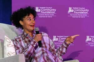 Actress, producer and activist Tracee Ellis Ross delivers the keynote conversation during Fairfield County's Community Foundation Fund for Women & Girls annual luncheon at the Hyatt Regency last April. The hotel, which is highly used for fundraising events, will suspend normal operations through April 30 due to coronavirus.