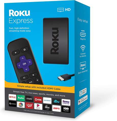 Roku Express HD Streaming Media Player 2019, $24.00 Photo: Amazon