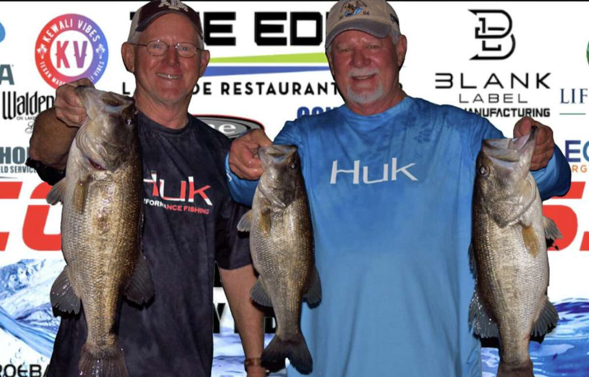 David Perciful and Wesley Ialacci came in third place in the CONROEBASS Tuesday tournament with a stringer weight of 15.96 pounds.