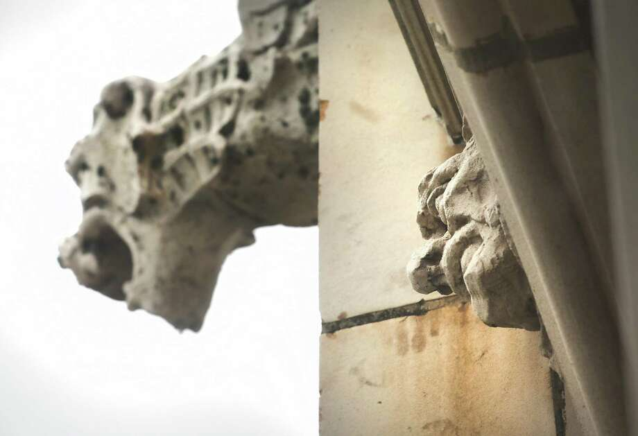 Gargoyles of downtown San Antonio include those sculptures found on the Tower Life Building. Technically, a gargoyle is a waterspout, though the term is often used interchangeably for such sculptures whether or not they drain water. Photo: Bob Owen / San Antonio Express-News