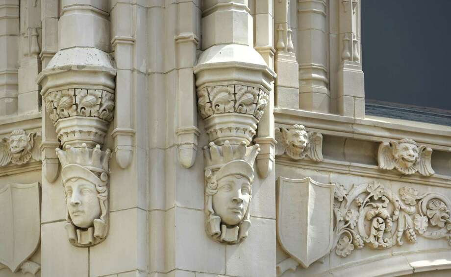 Gargoyles of downtown San Antonio include those found on the Emily Morgan Hotel. Photo: Bob Owen / San Antonio Express-News