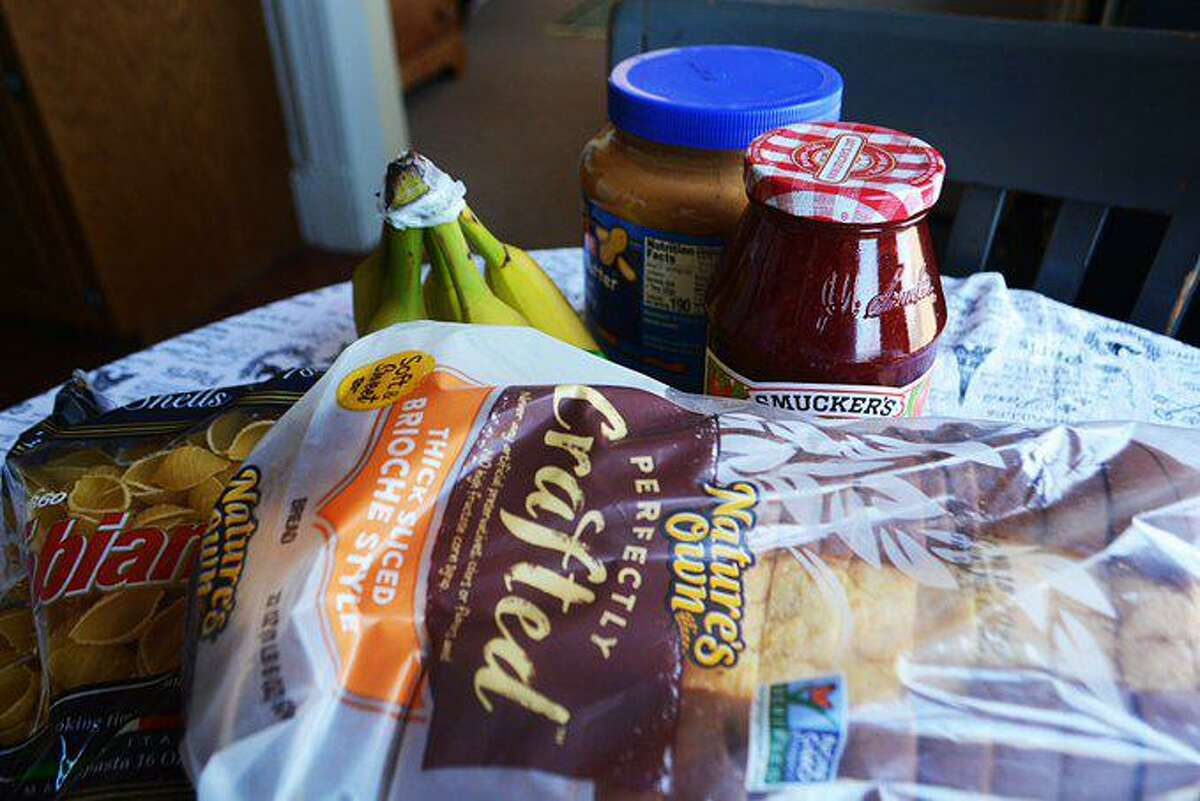 Nonperishable items are available for pickup at a number of food pantries throughout the shoreline.