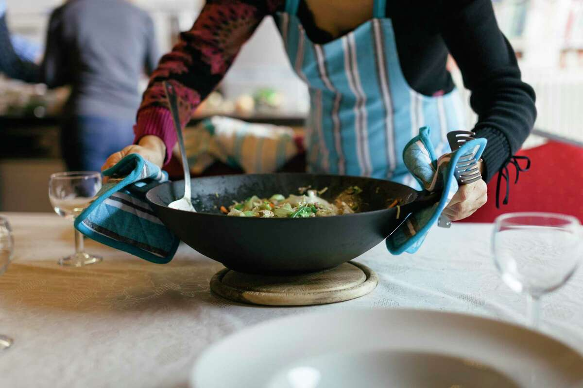 A wok is a great way to cook up a nutritious meal. Try a new recipe today.