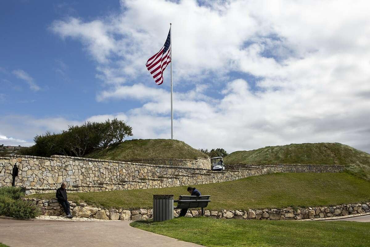 The Trump National Golf Club in Rancho Palos Verdes. (Gabriella Angotti-Jones/Los Angeles Times/TNS)