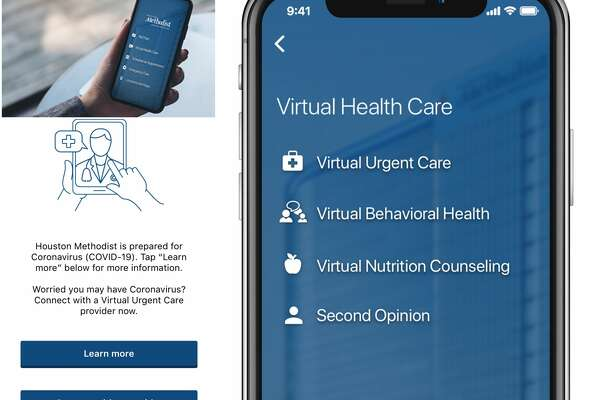 Houston Methodist offers a telemedicine app for virtual doctor's visits.