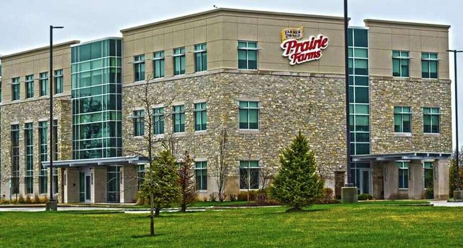 Prairie Farms headquarters in Edwardsville. Photo: Tyler Pletsch   The Intelligencer