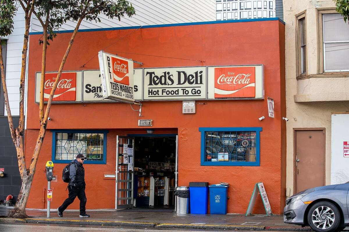 Ted's Market & Deli on Tuesday, March 24, 2020, in San Francisco, Calif.