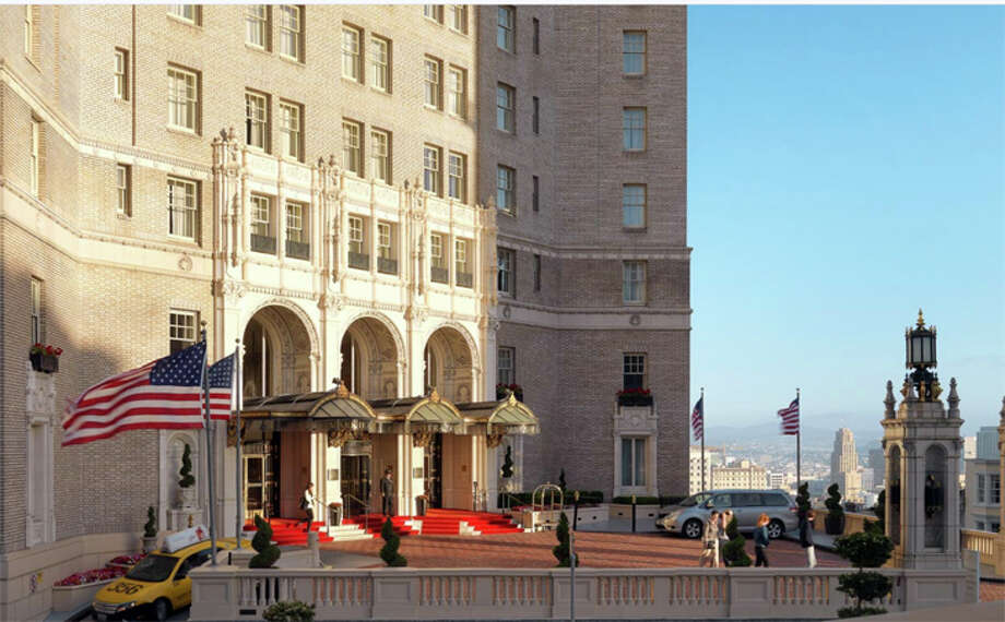 The InterContinental Mark Hopkins is one of dozens of local hotels working with the city of San Francisco to provide isolation rooms for persons under quarantine. Photo: InterContinental Mark Hopkins