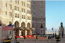 The InterContinental Mark Hopkins is one of dozens of local hotels working with the city of San Francisco to provide isolation rooms for persons under quarantine.