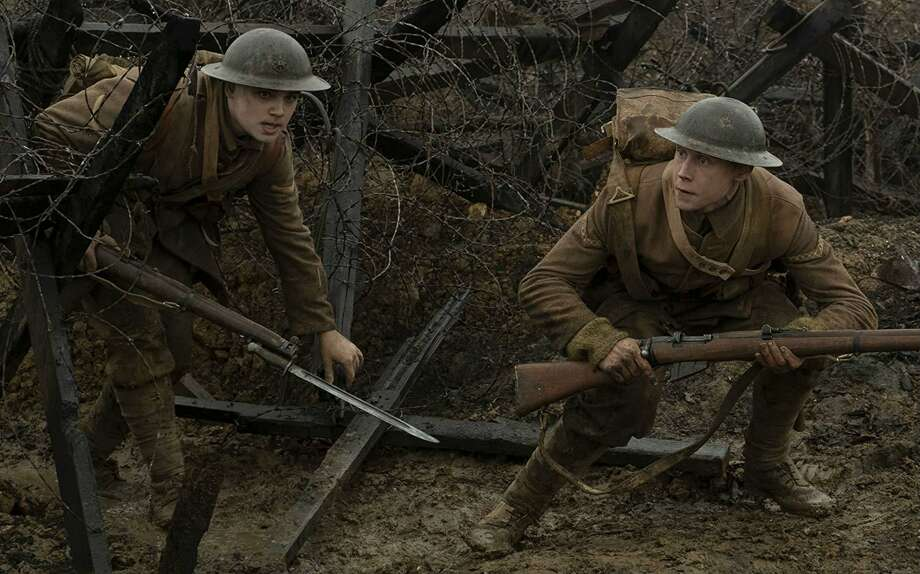 Dean-Charles Chapman and George MacKay in 1917. Photo: Francois Duhamel, HO / TNS / Universal Pictures/ DreamWorks