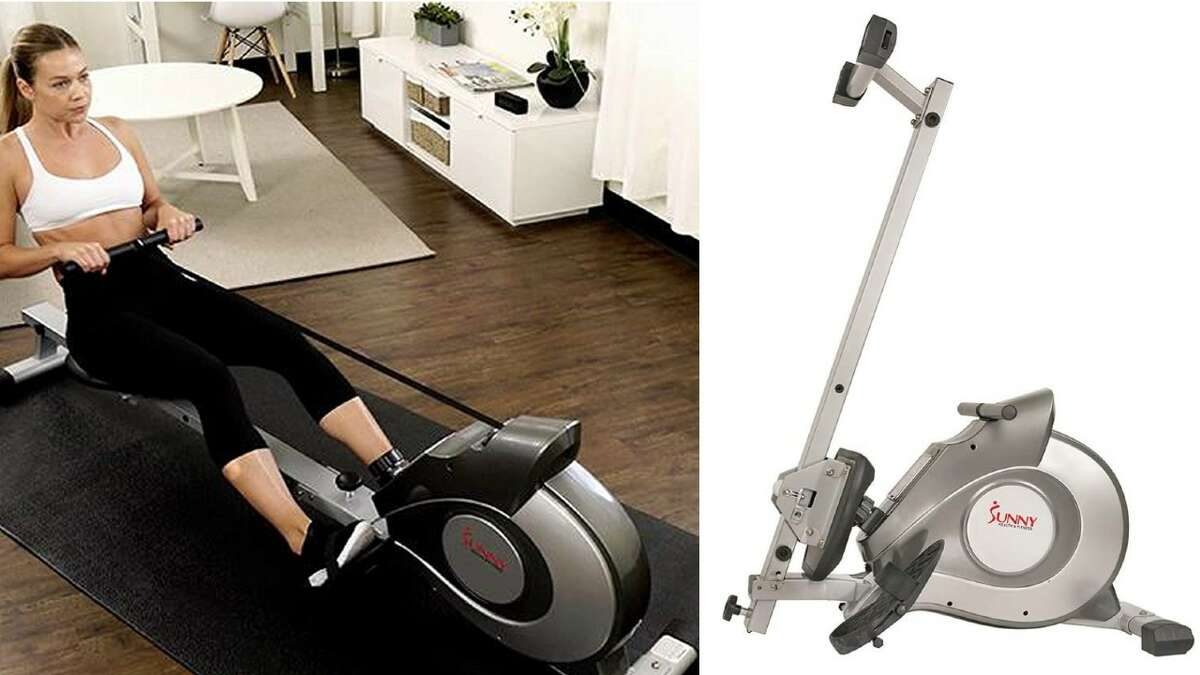 Sunny Health & Fitness SF-RW5515 Magnetic Rowing Machine Rower, $267.99 (Normally $399.99)