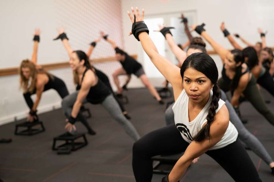 Pure Barre With locations all across town, Pure Barre is offering free 30 minute live classes you can stream online. Photo: Yelp/Pure Barre Photo: Yelp/Pure Barre