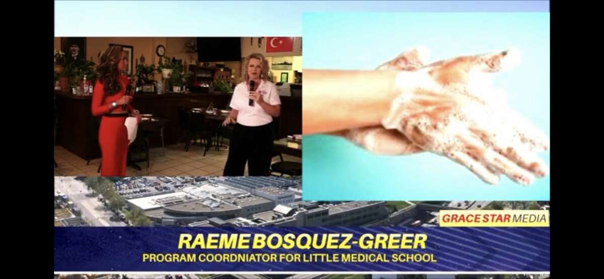 Raeme Bosquez-Greer, owner of Raeme's Transitions Services is the program director at The Little Medical School of San Antonio. She taught viewers proper hand washing hygiene and how you make antibacterial products from home.
