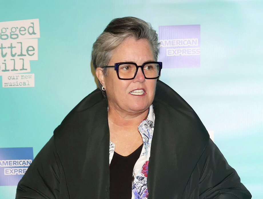 "FILE - This Dec. 5, 2019 file photo shows Rosie O'Donnell at the ""Jagged Little Pill"" Broadway opening night in New York. Oa€™Donnell is reviving her old daytime talk show for one time only and her guest list is impressive. A whoa€™s-who of Broadway, including Matthew Broderick and Sarah Jessica Parker, Neil Patrick Harris, Morgan Freeman, Gloria Estefan and Barry Manilow, plan to join Oa€™Donnell on Sunday, March 22, for a live streaming fundraiser for The Actors Fund. (Photo by Greg Allen/Invision/AP, File) Photo: Greg Allen / 2019 Invision"