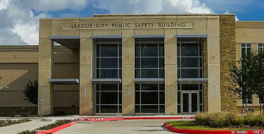 File photo shows the League City Public Safety Building in 2015. League City Police Chief Gary Ratliff got permission from the city council on March 24, 2020 to fine violators of a recently issued stay-at-home order. Photo: League City / League City