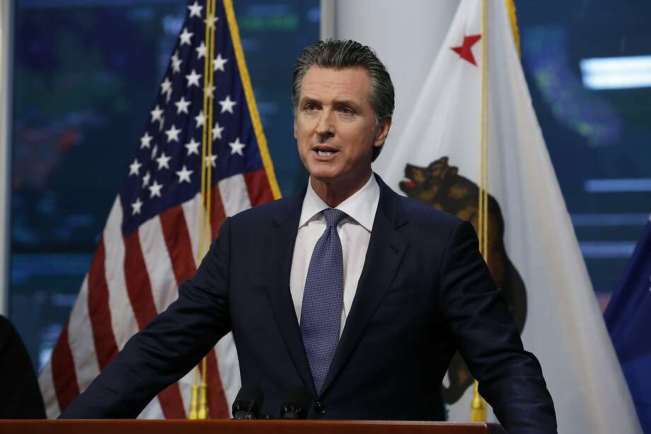 Civil rights groups and others are calling on Gov. Gavin Newsom to expand the state's safety net. Photo: Rich Pedroncelli / Associated Press