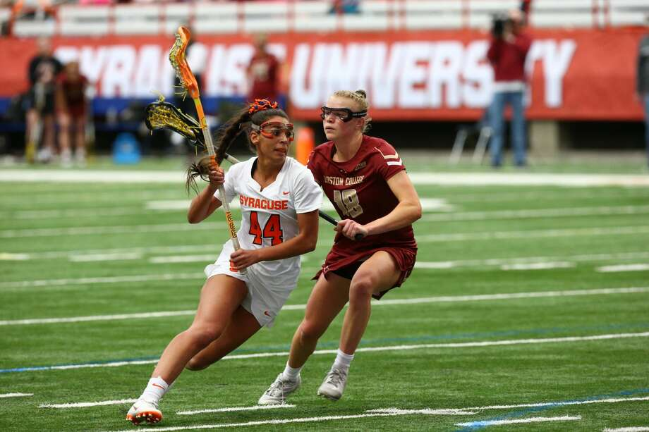 Queensbury High graduate Mary Rahal of the Syracuse women's lacrosse team. (Courtesy of Syracuse athletic department) Photo: Courtesy Of Syracuse Athletic Department