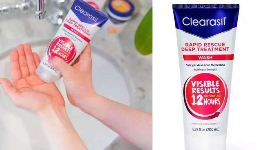 Clearasil Rapid Rescue Deep Treatment Wash, $5.99 Photo: Target